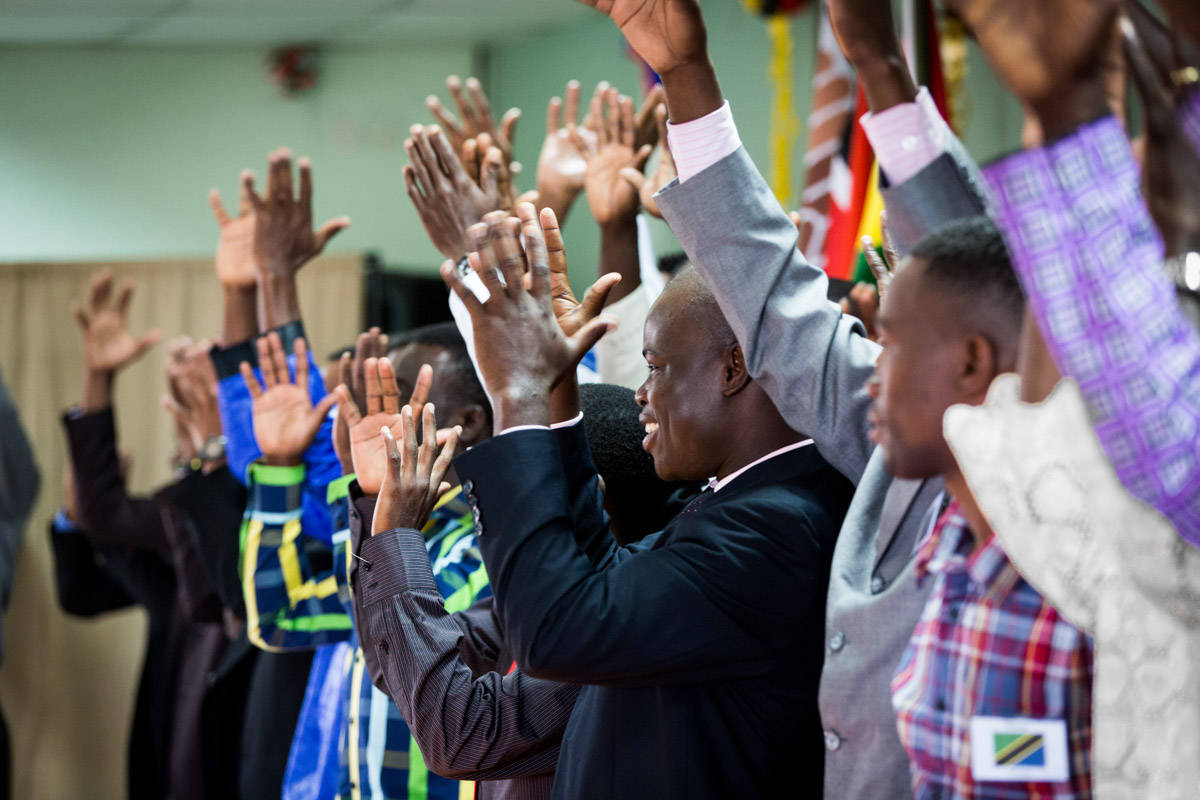 "DOOR International Celebrates the completion of DVD Scripture for sign languages in Ghana, Burundi, Ethiopia, Uganda, Tanzania, and Nigeria, and the completion of a video commentary (""The Deeps"") for Kenyan Sign Language."